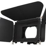 MatteBox Genus Elite con 3 bandiere e due porta filtri 4×5,65