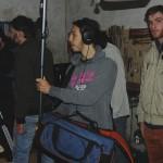 La troupe si prepara alle riprese