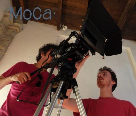 Prove tecniche sulla cinepresa (Sony NEX FS100)